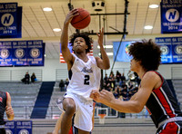 2019.01.22 Edmond North vs Yukon boys basketball