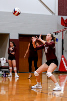 2018.08.09 Edmond Memorial vs OKC Storm volleyball