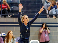 2019.08.26 Edmond North vs Edmond Santa Fe volleyball