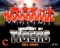 2020.10.22 Crescent 8U Tigers Baseball